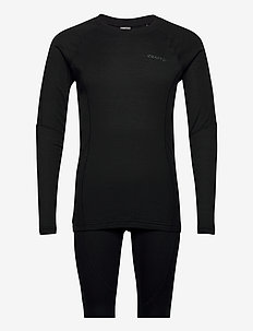 CORE WARM BASELAYER SET M - base layer sets - black