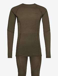 CORE WARM BASELAYER SET M - underställsset - dark olive