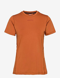 ADV ESSENCE SS TEE W - t-shirts - buff