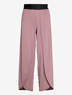 FLOW SPLIT PANTS W - pantalon de sport - dull purple
