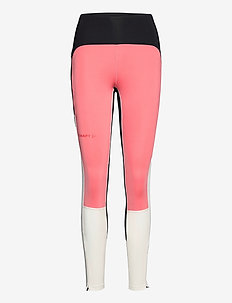 PRO HYPERVENT TIGHTS W - sportleggings - coral/black