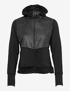 ADV Charge Jersey Hood Jacket W - vestes d'entraînement - black