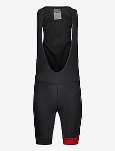 Core Endur Bib Shorts M - treenishortsit - black-bright red