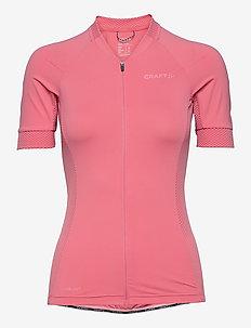 Adv Endur Jersey W - t-shirts - coral