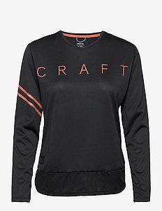 Core Offroad XT LS Jersey W - topjes met lange mouwen - black
