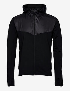 ADV Charge Jersey Hood Jacket M - sportjacken - black
