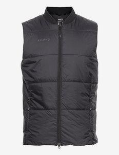 CORE LIGHT PADDED VEST U - sports jackets - black