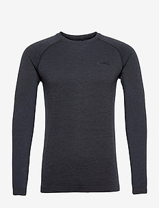 CORE Dry Active Comfort LS M - langermede topper - black