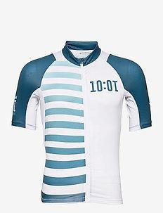 Adv Hmc Endur Graphic Jersey M - sports tops - white-fjord