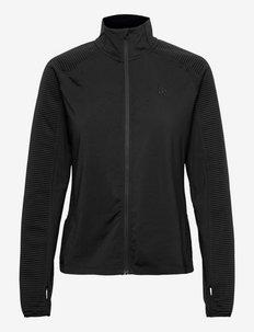 Core Charge Jersey Jacket W - sweats et sweats à capuche - black