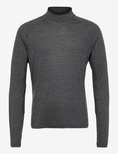 ADV SubZ Wool LS Tee 2 M - långärmade tröjor - black