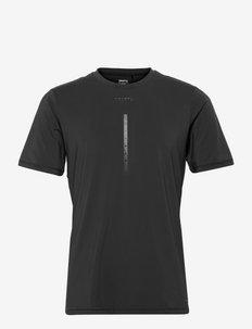 ADV Charge SS Tech Tee M - t-shirts - black