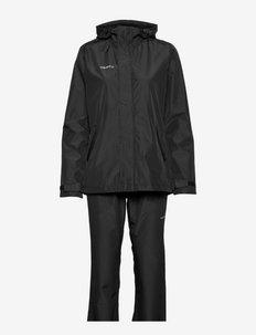 Core Explore Rain Set W - manteaux de pluie - black