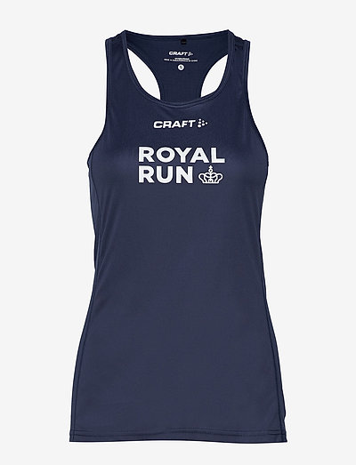 Royal Run Singlet W - tank tops - navy