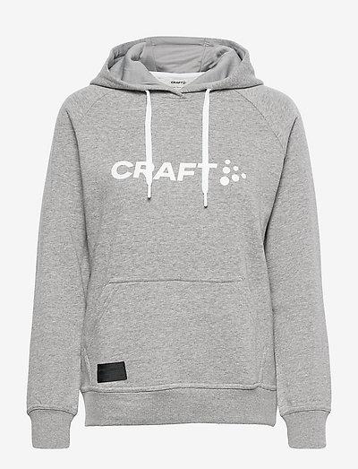 CORE Craft Hood W - hoodies - grey melange