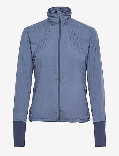 ADV Essence Wind Jacket W - training jackets - saphire