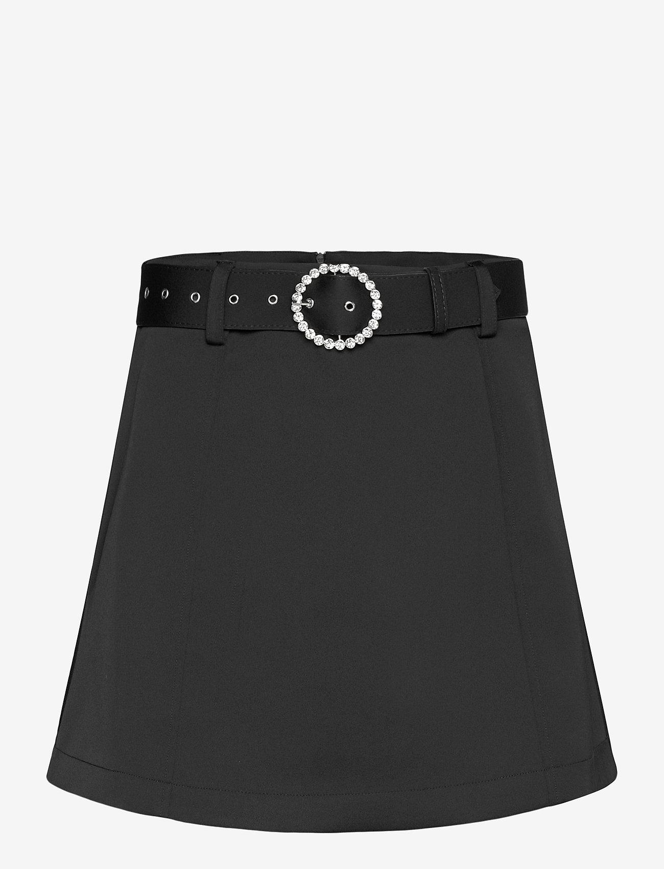 Cras - Romycras skirt - korta kjolar - black - 0