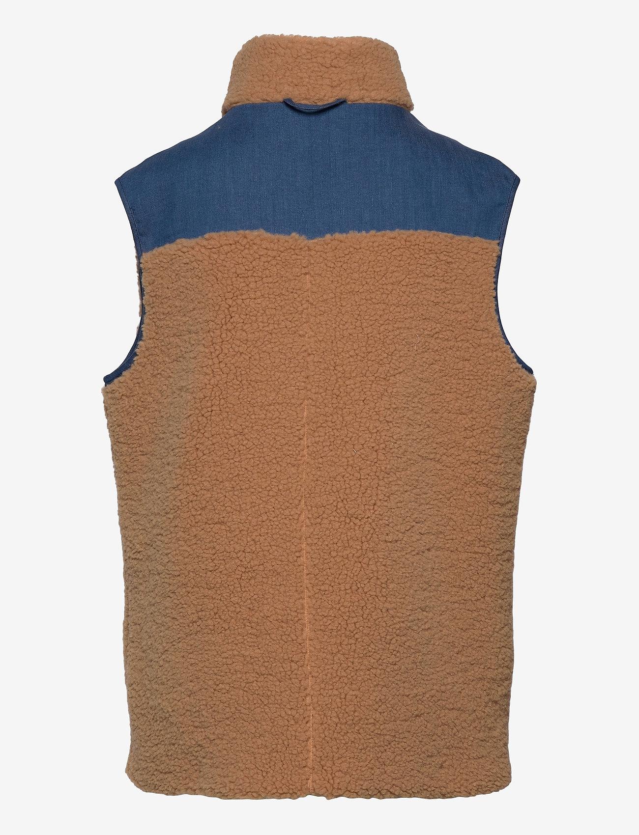 Cras - Adelecras Vest - puffer vests - doe mazerine blue - 1