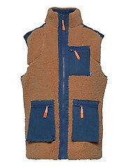 Adelecras Vest - DOE MAZERINE BLUE