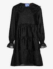 Cras - Lenacras dress - alledaagse jurken - black - 0