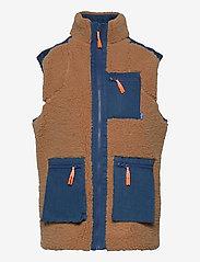 Cras - Adelecras Vest - puffer vests - doe mazerine blue - 0