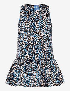 Zoecras short dress - tunikat - blue leo