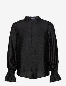 Joycras shirt - långärmade blusar - black