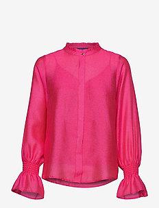 Joycras shirt - långärmade blusar - magenta