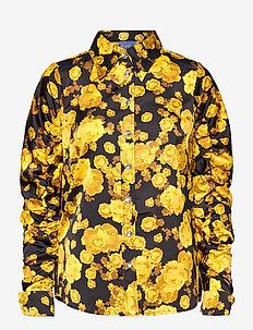 Lanacras shirt - långärmade skjortor - yellow rose