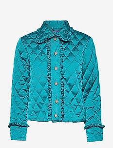 Saracras jacket - tikkitakit - enamel blue