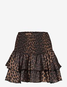 Figarocras skirt - korta kjolar - wild leo