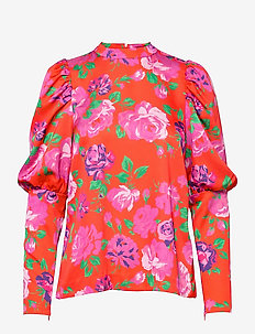 Millacras Blouse - långärmade blusar - flower jam