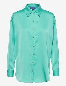 Raincras shirt - langærmede skjorter - blue radiance