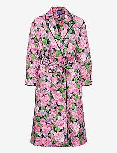 Tribecras jacket - pegnoirs - vintage flora