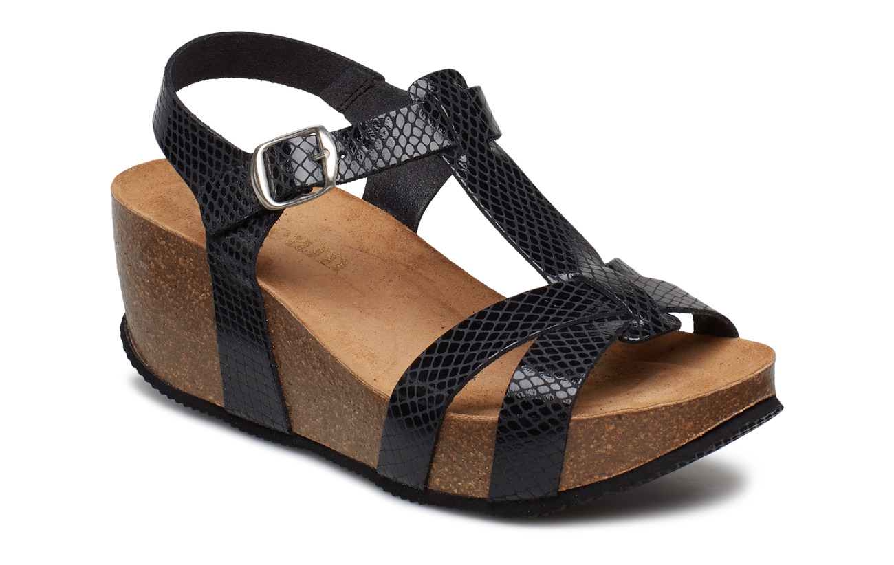 Cream Sandry Sandal - PITCH BLACK