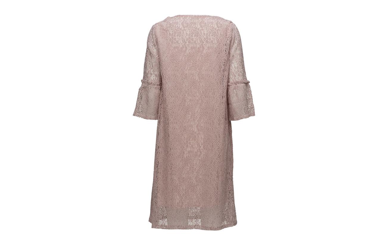 Felina Dress True Red Cream 100 Intérieure Équipement Doublure Lace Viscose dqw1ROp