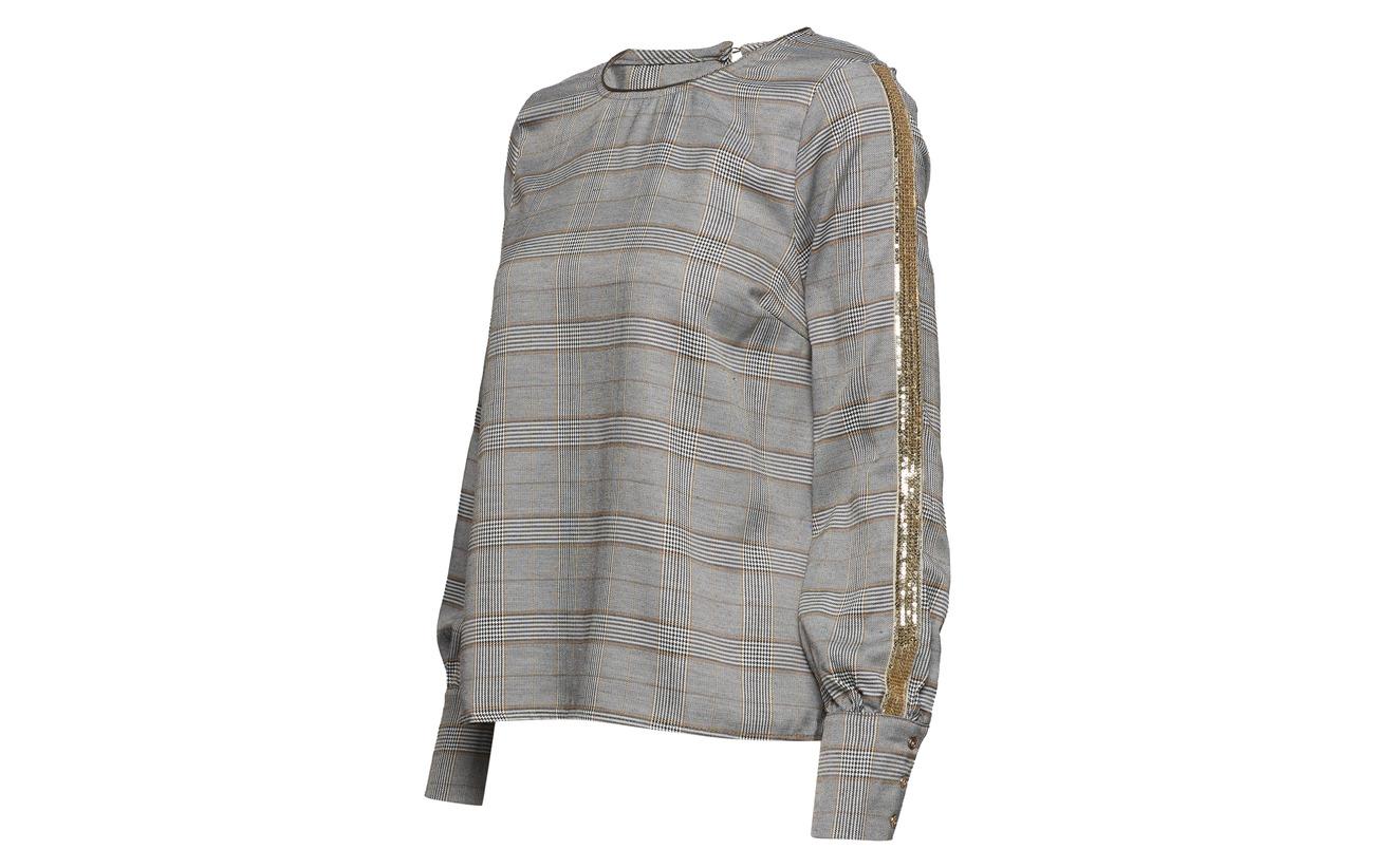 Black 98 Chery Pitch Blouse Polyester 2 Équipement Elastane Cream qwPtZOTZ