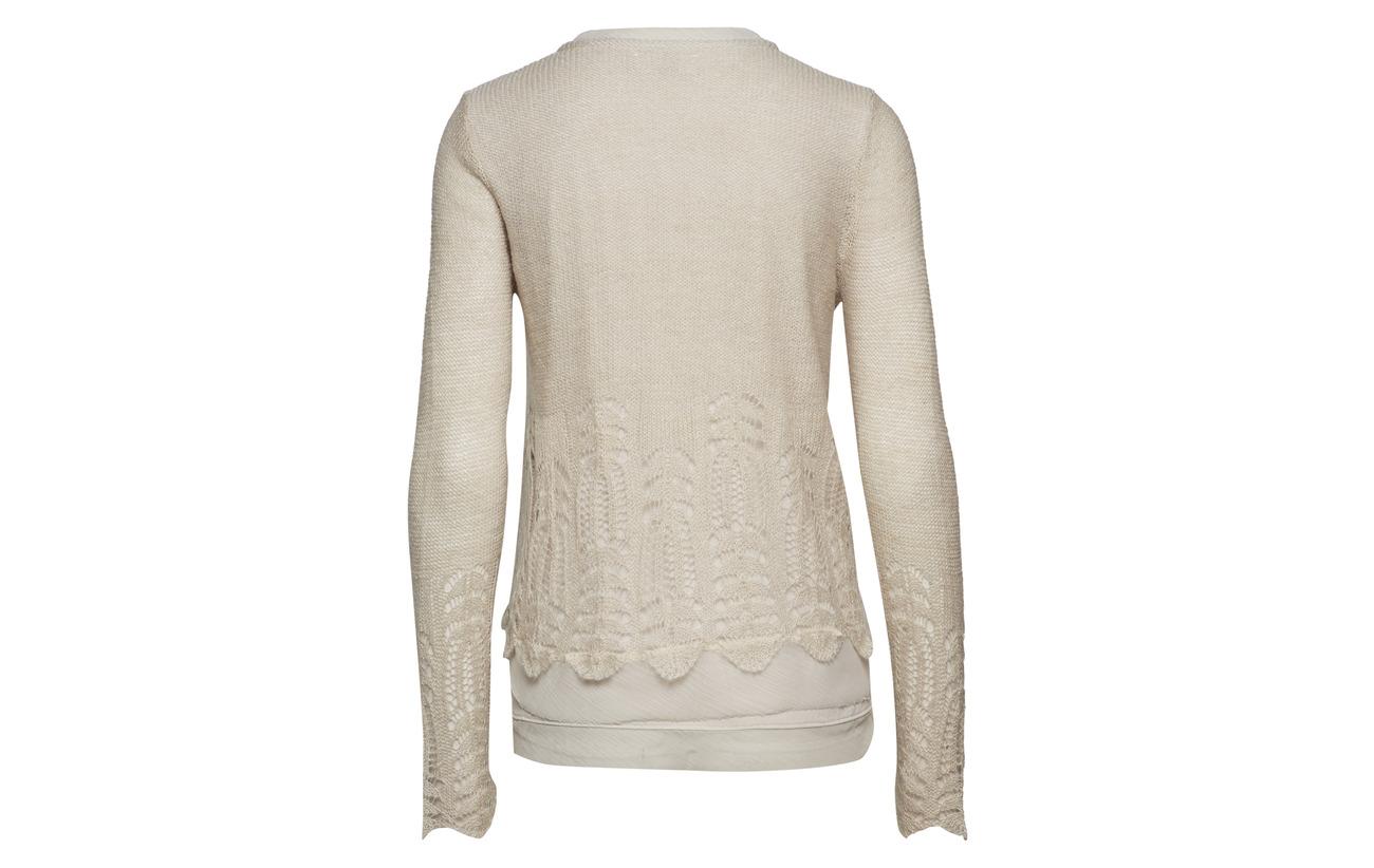 Acrylique Polyamide Polyester Laine Coton 10 35 Knit Deana Cream 5 Cardigan Gray Silver Intérieure Équipement Doublure 65 33 Mohair 52 wOTwZ8q