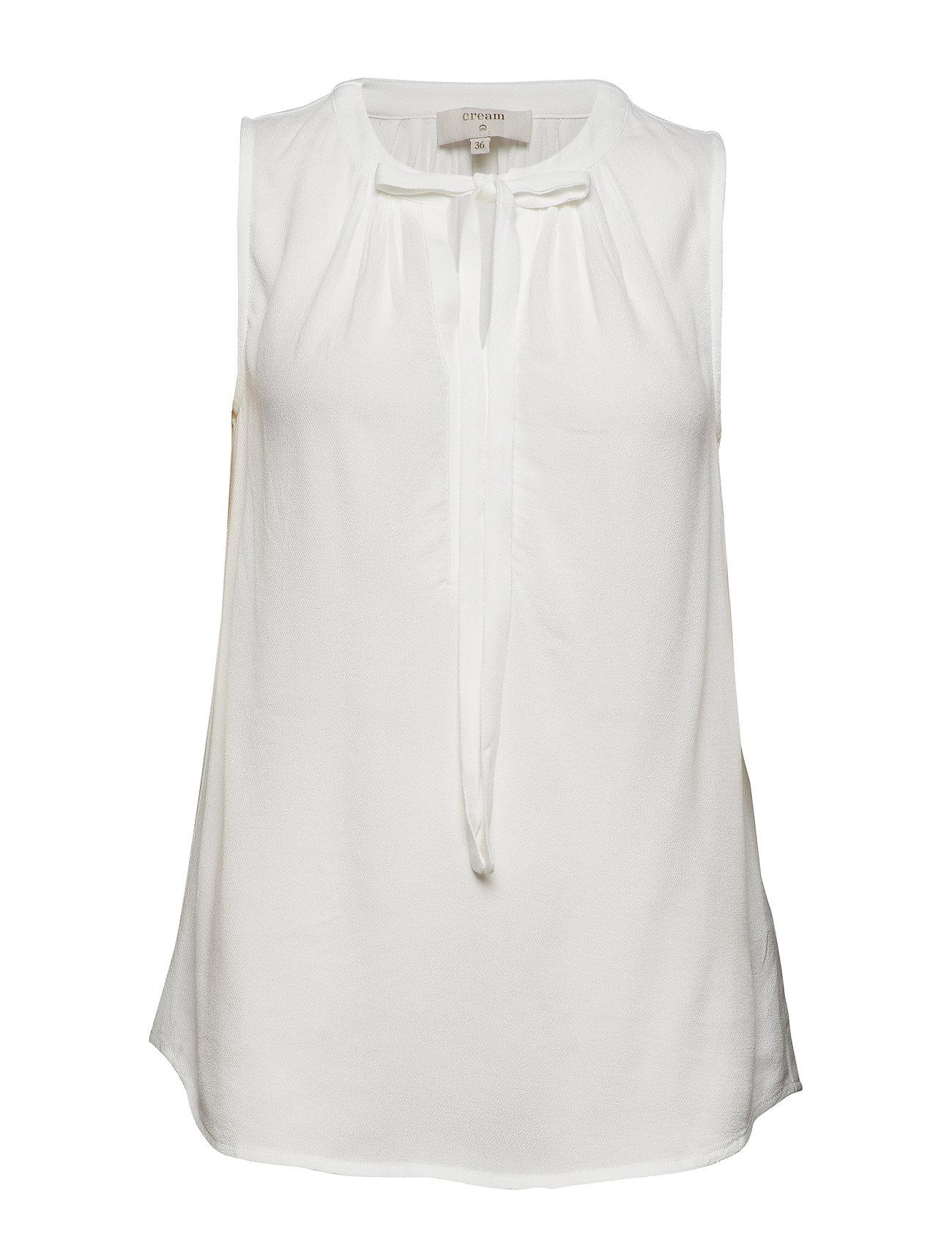 Cream Vera blouse - CHALK
