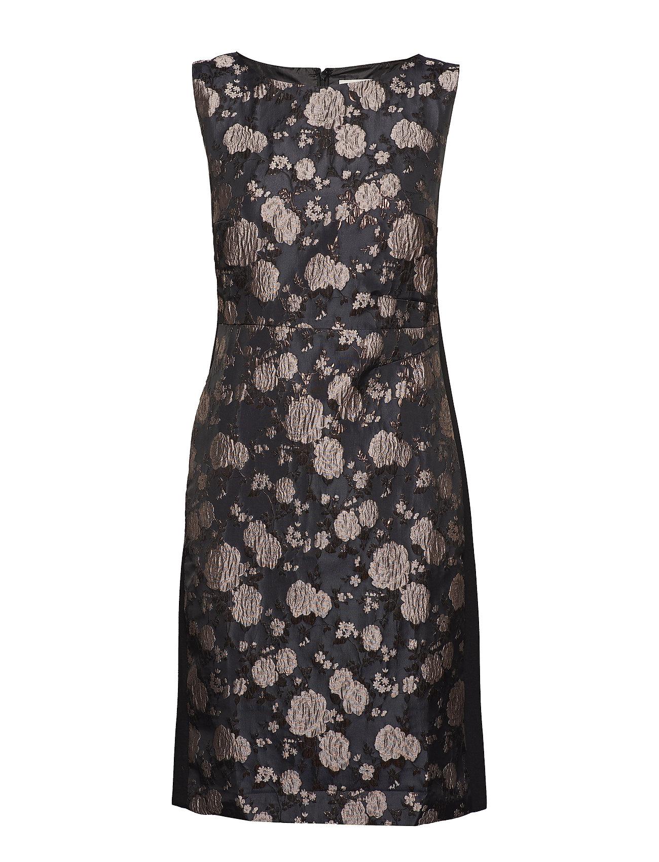 Cream Ina Dress - overknee - PITCH BLACK