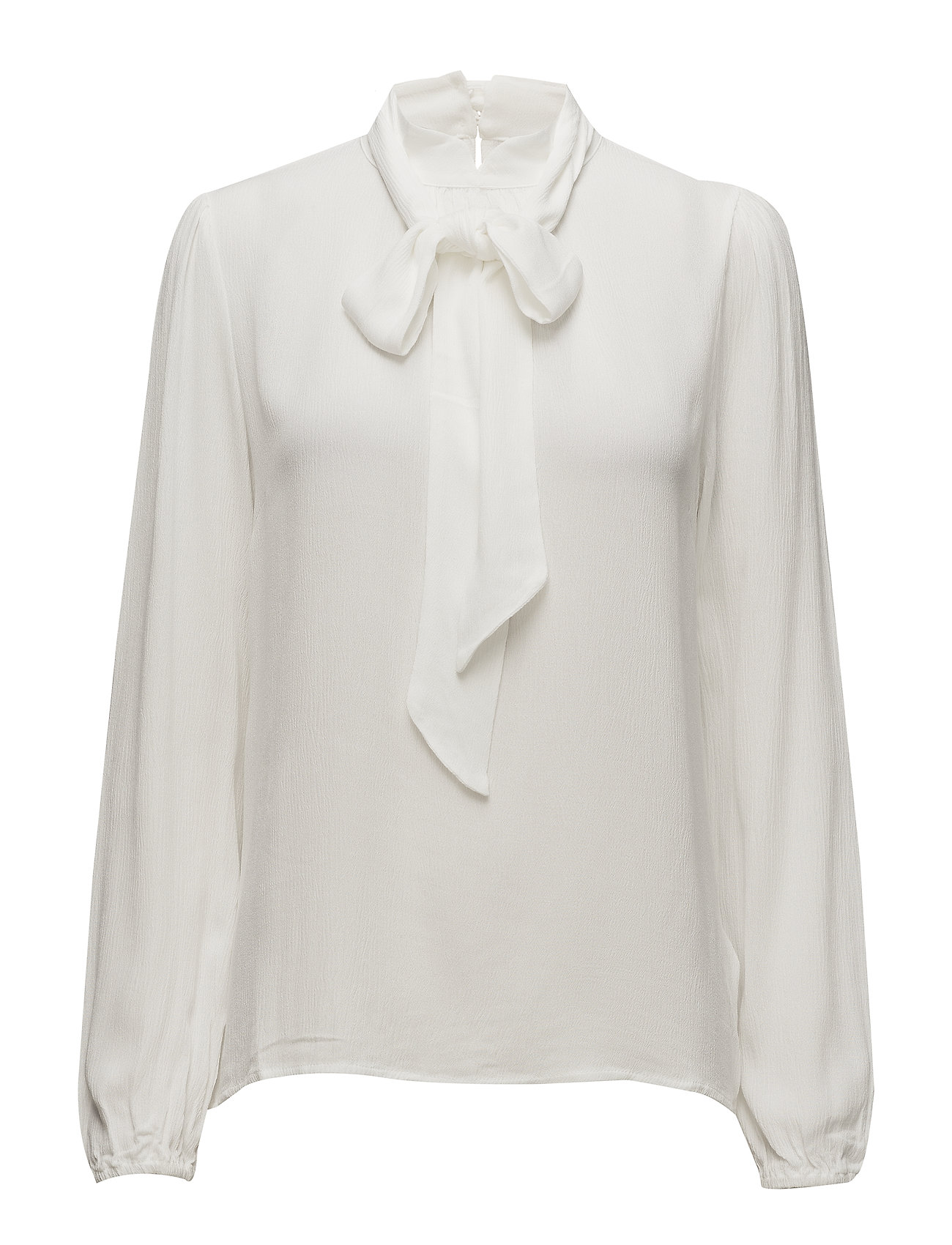 Cream Bowie blouse - CHALK