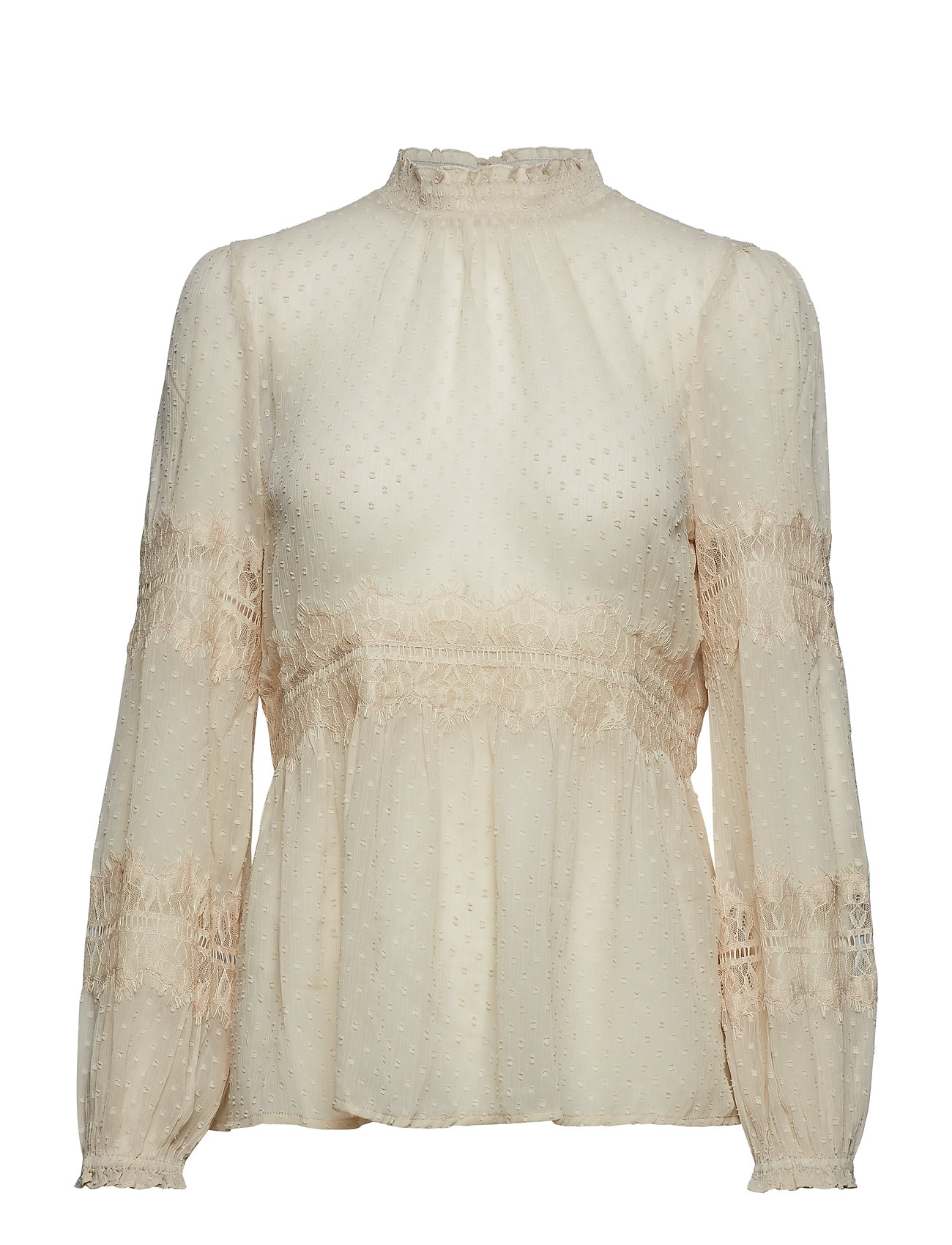 Cream Scarlett Blouse - SOFT BEIGE