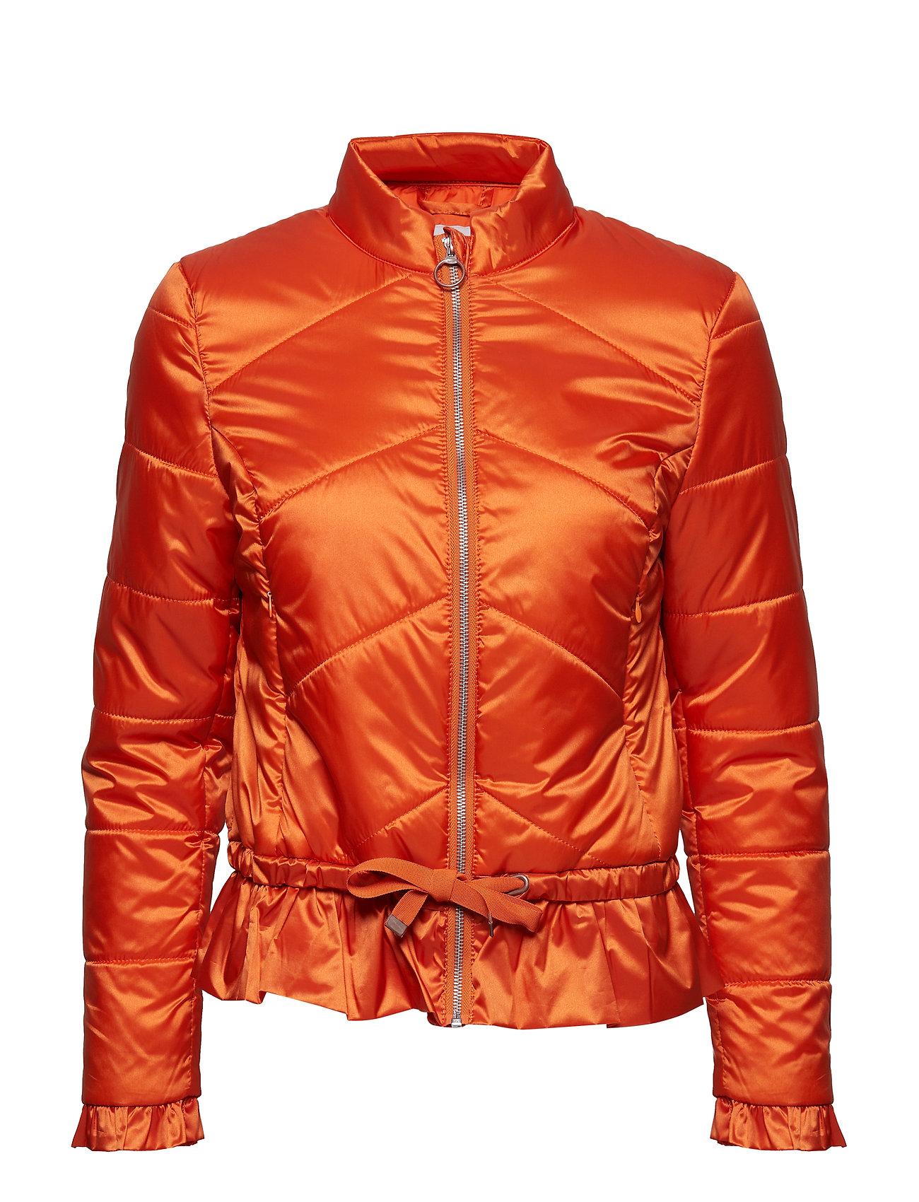 Cream Crystal spring jacket - PUMPKIN ORANGE