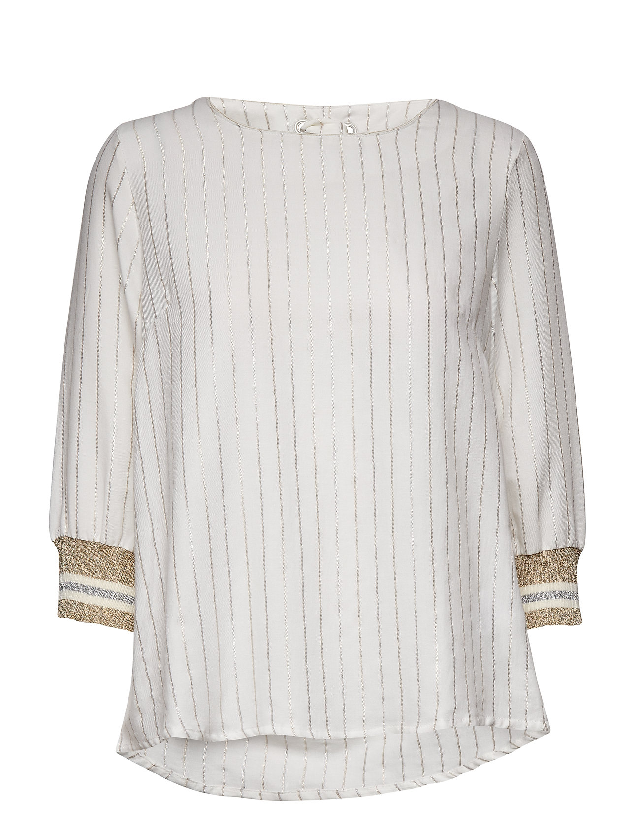 Cream Alejandra Blouse - CHALK
