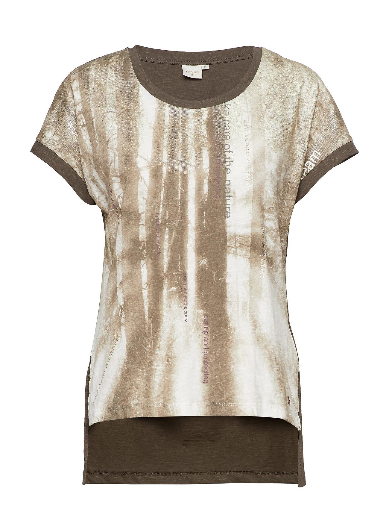 Cream Lavenie Tshirt - MAJOR BROWN