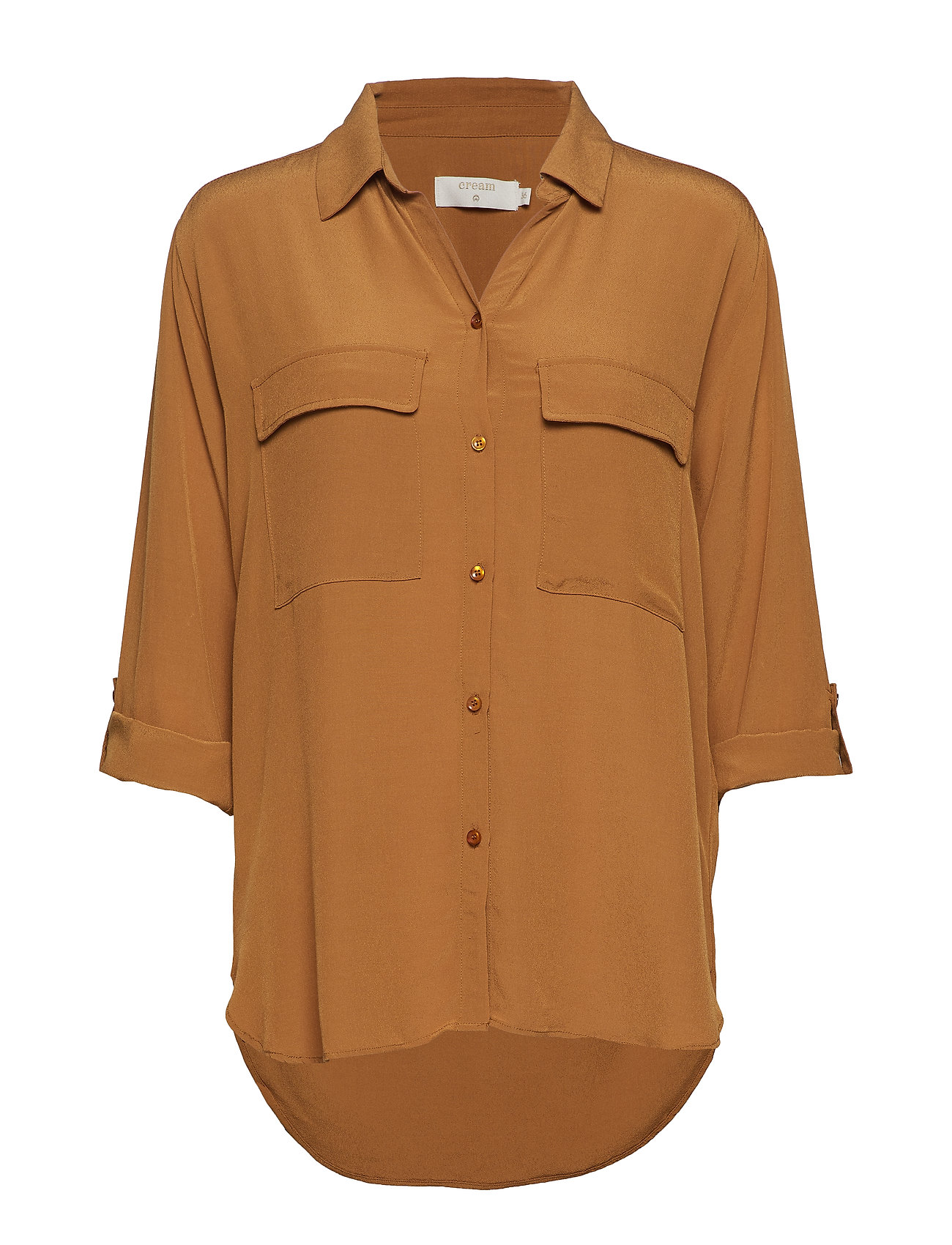 Cream Milanie Shirt - BRONZED