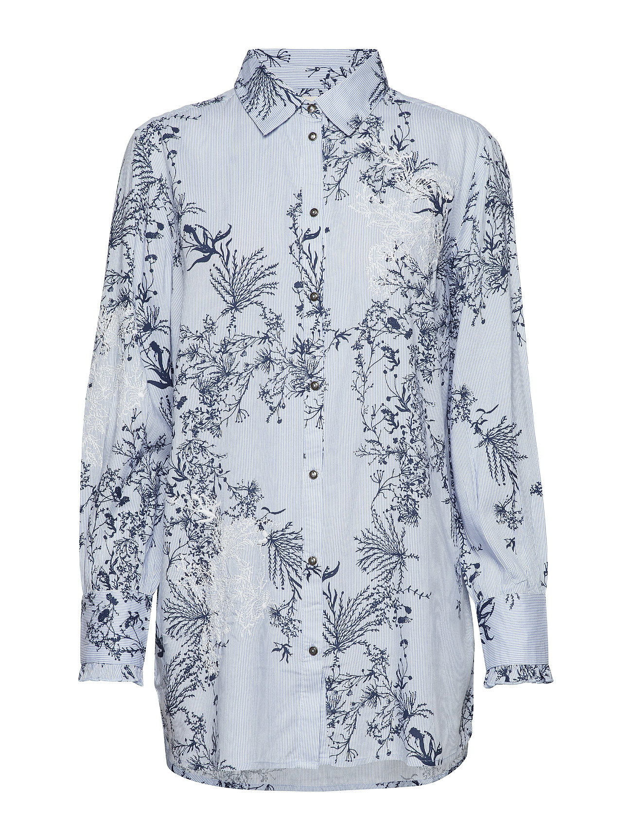 Cream Juliana long shirt - LAVENDER BLUE