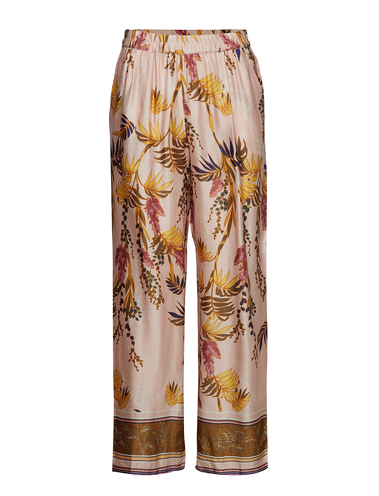 Cream Monique Pants - long - SUNSHINE ROSE