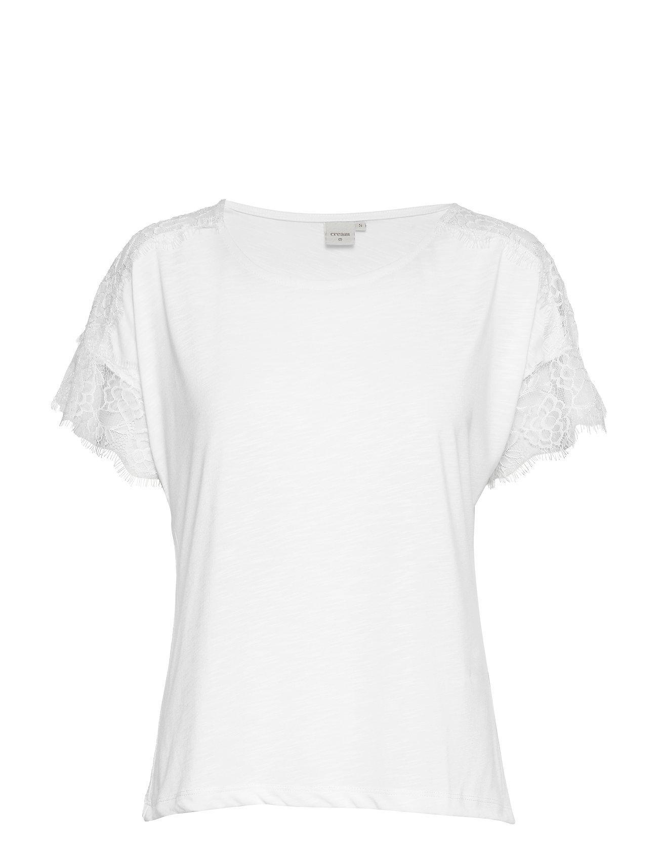 Cream Paulina Tshirt - CHALK