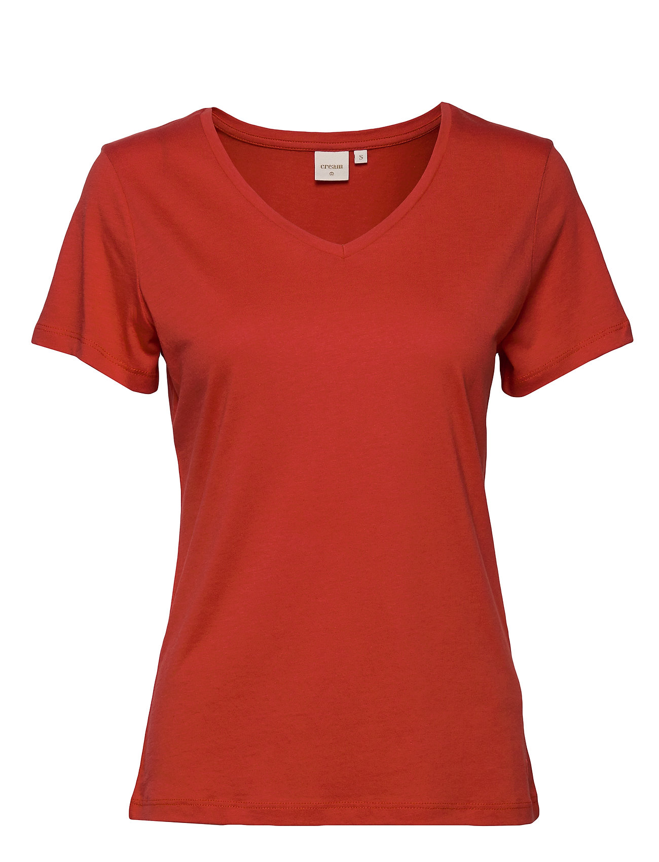 Cream Naia T-shirt - AURORA RED